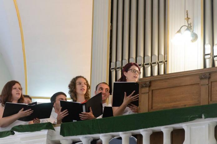 A vegyeskar szolgálata az evangélikus és református egyházak közös zsinatán