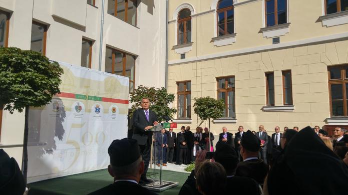 Beszédet mond Orbán Viktor miniszterelnök