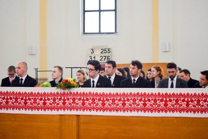 Tanévzáró istentisztelet a belvárosi unitárius templomban