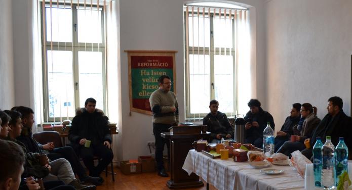 Dr. Gudor Kund Botond esperes Nagyenyed történetéről beszél