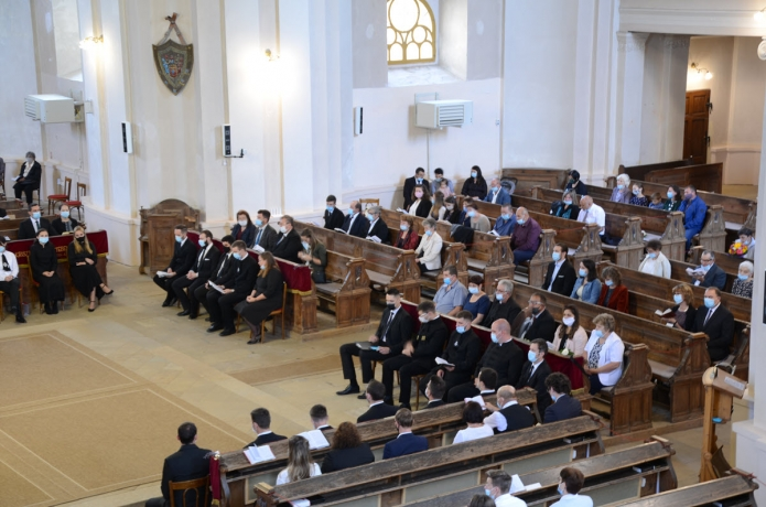 Kibocsátó istentisztelet az Alsóvárosi Református Templomban
