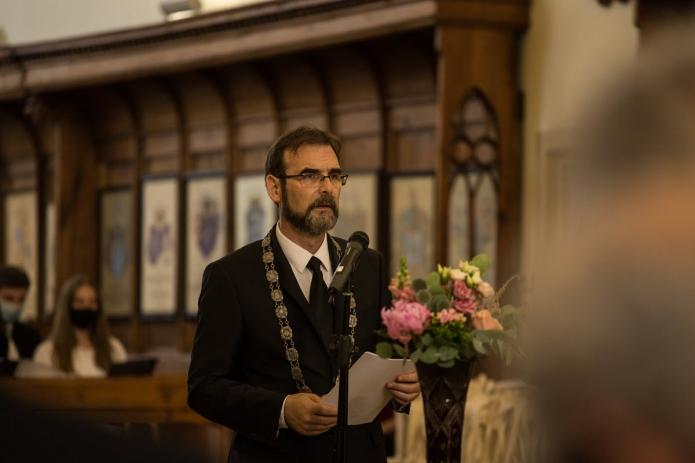 Tanévzáró beszédet mond Kolumbán Vilmos József rektor
