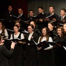 A kórus szolgálata a Kolozsvári Magyar Operában a reformációi emlékév gálaestjén