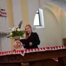 Farkas Orsolya búcsúzik a végzős hallgatóktól