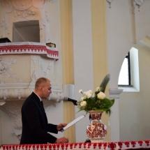 Palkó Zalán Koppány búcsúzik a végzős hallgatók nevében