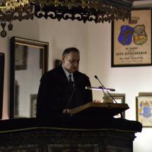 Igét hirdet Kállay Dezső rektor