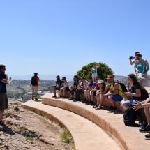 Magaslat Názáret közelében, ahonnan le akarták taszítani Jézust
