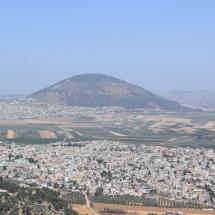 A Tábor hegye Názáret felől