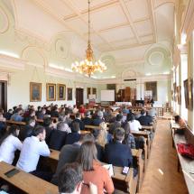 A plenáris előadások hallgatói