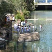 Keresztelő a Jordánban