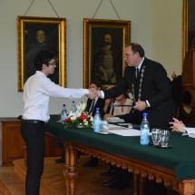 Jutalomban részesül Baciu Marius Alexandru