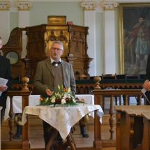 Sven Grosse előadást tart Philip Melanchtonról