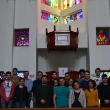 Az első évfolyam a Zilah-Ligeti templomban