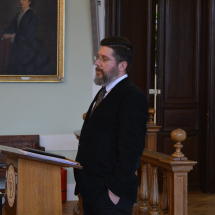 Mike Pál magyarkéci lelkipásztor beszél a lelkészi szolgálatról