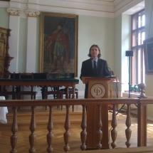 Koppándi Botond (KPTI) Thomas G. Long könyvének magyar fordítását mutatja be